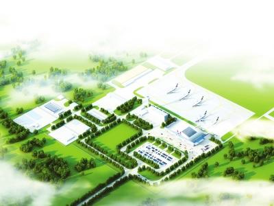 延吉市新建飞机场图纸