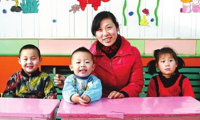 幼儿园老师王蕊的新年愿望