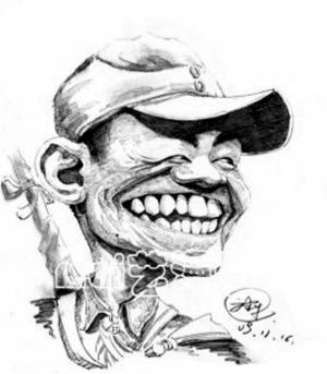 人物肖像漫画_
