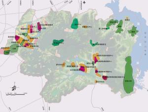 长春莲花山生态旅游度假区近期建设项目规划图